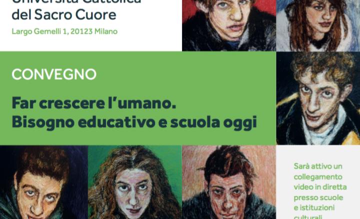 """06/02/2020 – Resegoneonline.it – """"Far crescere l'umano. Bisogno educativo e scuola oggi"""""""