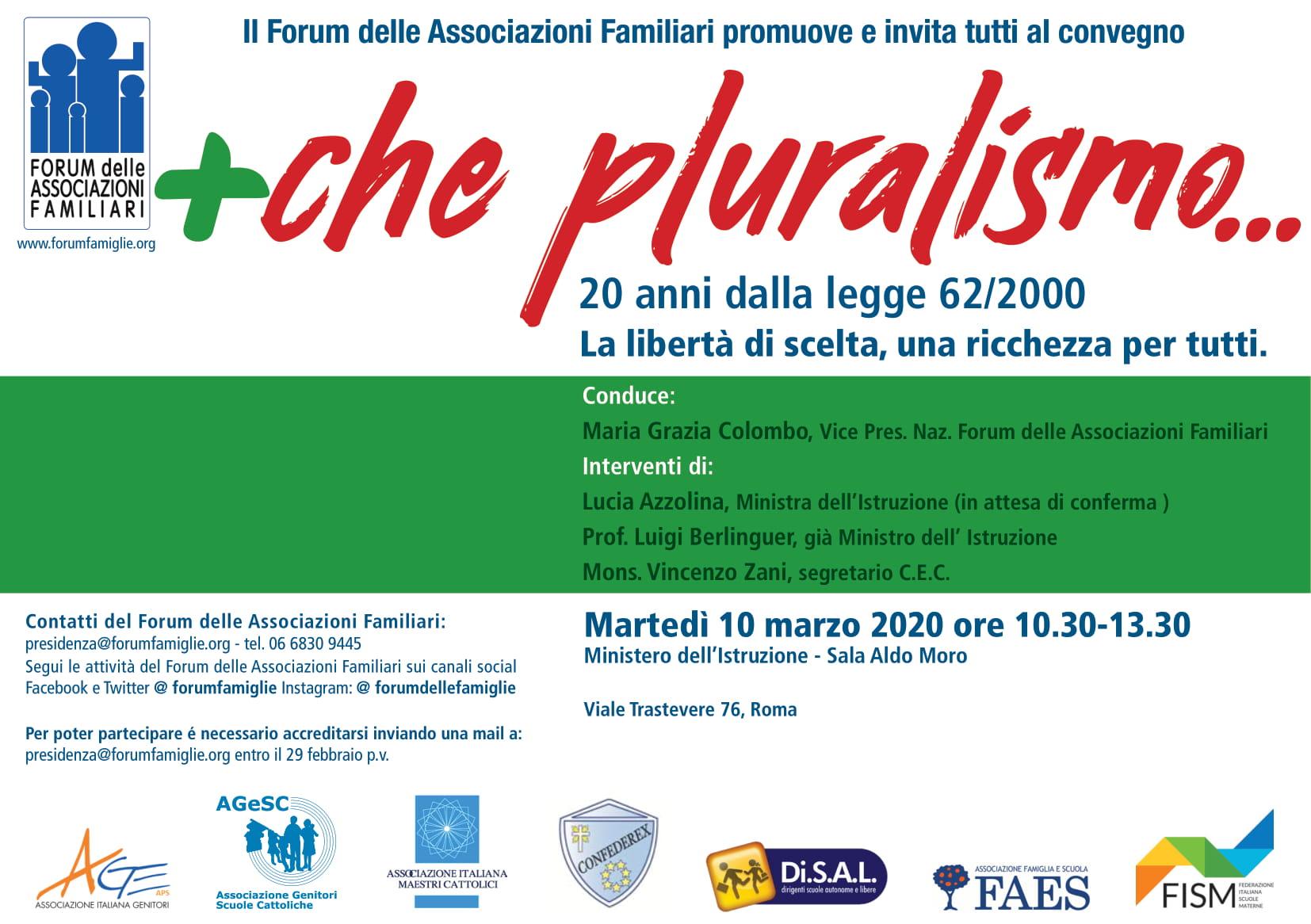 10/03/2020 – Che pluralismo…